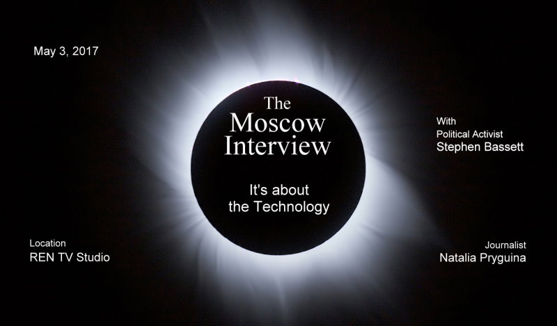 Moscow Interview – It's about the Technology