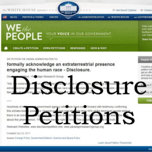 We the People Disclosure Petition Initiative (2011 - 2015)