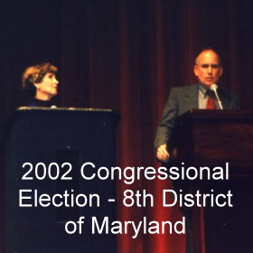 2002 Congressional Election 8th District of Maryland