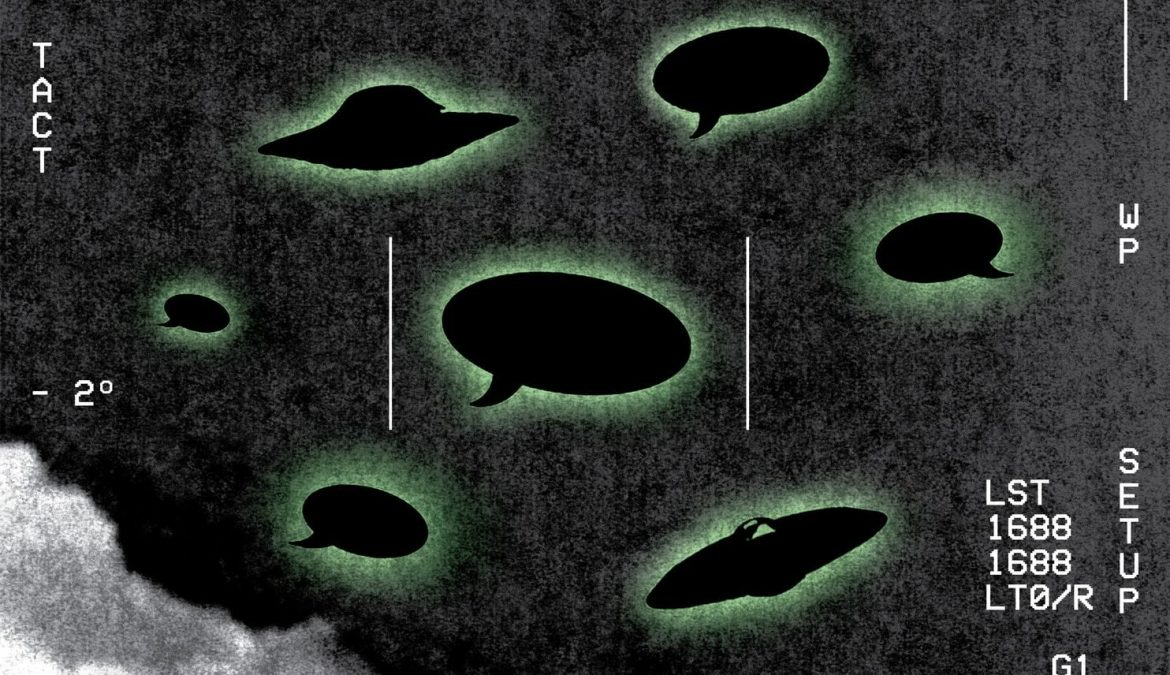 UFOs are suddenly a serious news story…..